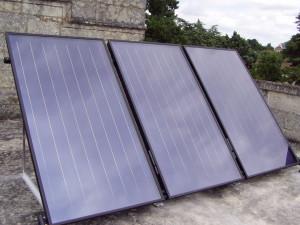 Panneaux solaires Château de Ranton