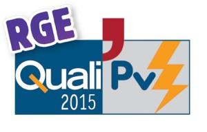 QualiPV RGE 2015